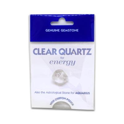 Clear Quartz - Packed Gemstone
